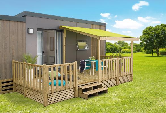 Terrasse Zenidea - 6x2.50m/4.50m - 2 904€ - Zen Mobil homes