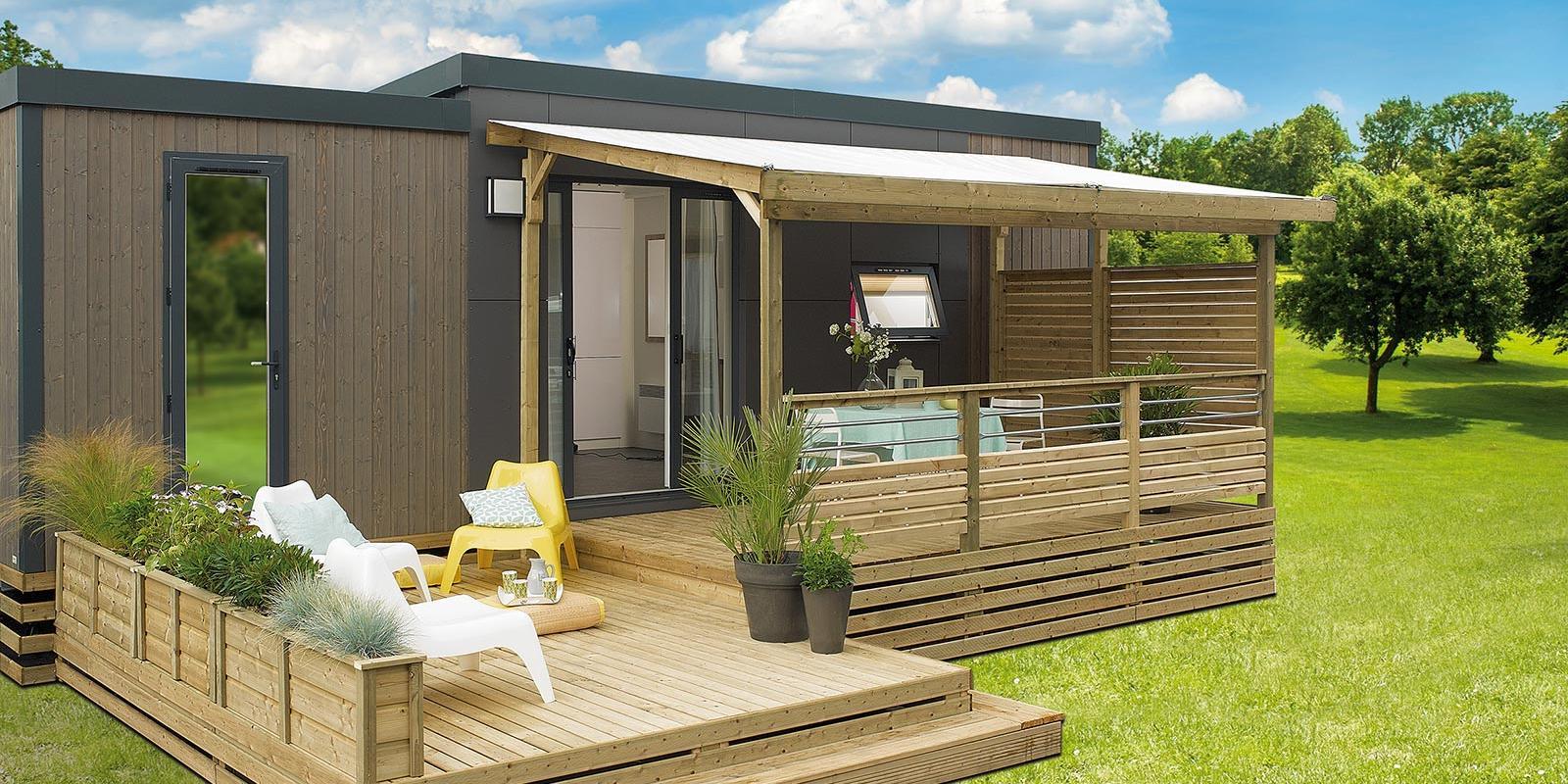 Terrasse Zenidea - 7.50x2.50m/3m - 2 918€ - Zen Mobil homes