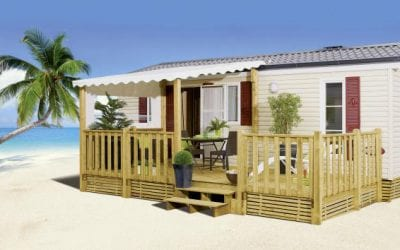 Terrasse Zenespa – 7.50x3m / 3m – Semi couverte – 28mm vissé – Collection 2019 – 3 721€
