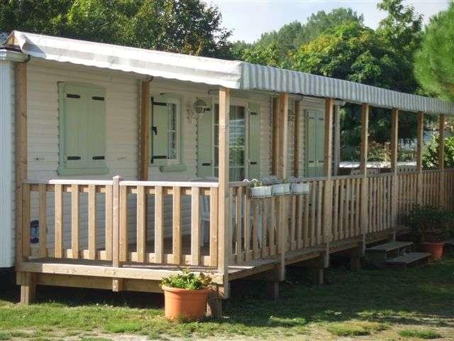 Terrasse Zenespa - 4.50x3m - Couverte - 3 256€ - Zen Mobil homes