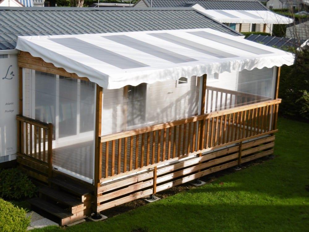 Terrasse Zenfinea - 6x3m - Couverte - 3 608€ - Zen Mobil homes