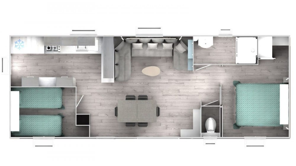 TRIGANO INTUITION 40 - 2 - Mobil home neuf - 2019 - Zen Mobil homes