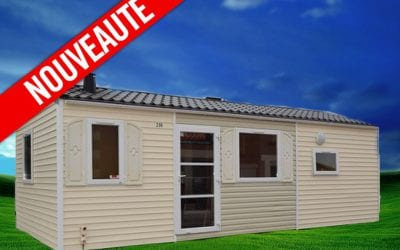 Rapidhome Loft 75 – 2008 – Mobil home d'occasion – 5 800€ – 2 chambres – NOUVEAUTE