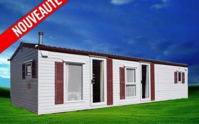 Delta Mia Casa 407 – 2009 – Mobil home d'occasion – 9 900€ – 3 chambres – NOUVEAUTE