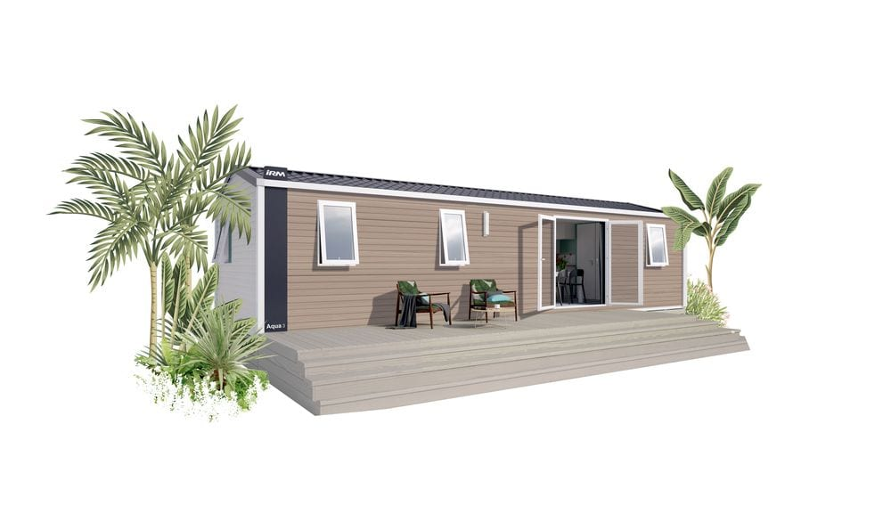 IRM AQUA 3 – 2021 – Mobil Home Neuf – Gamme Locative – 3 Chambres – Collection 2021