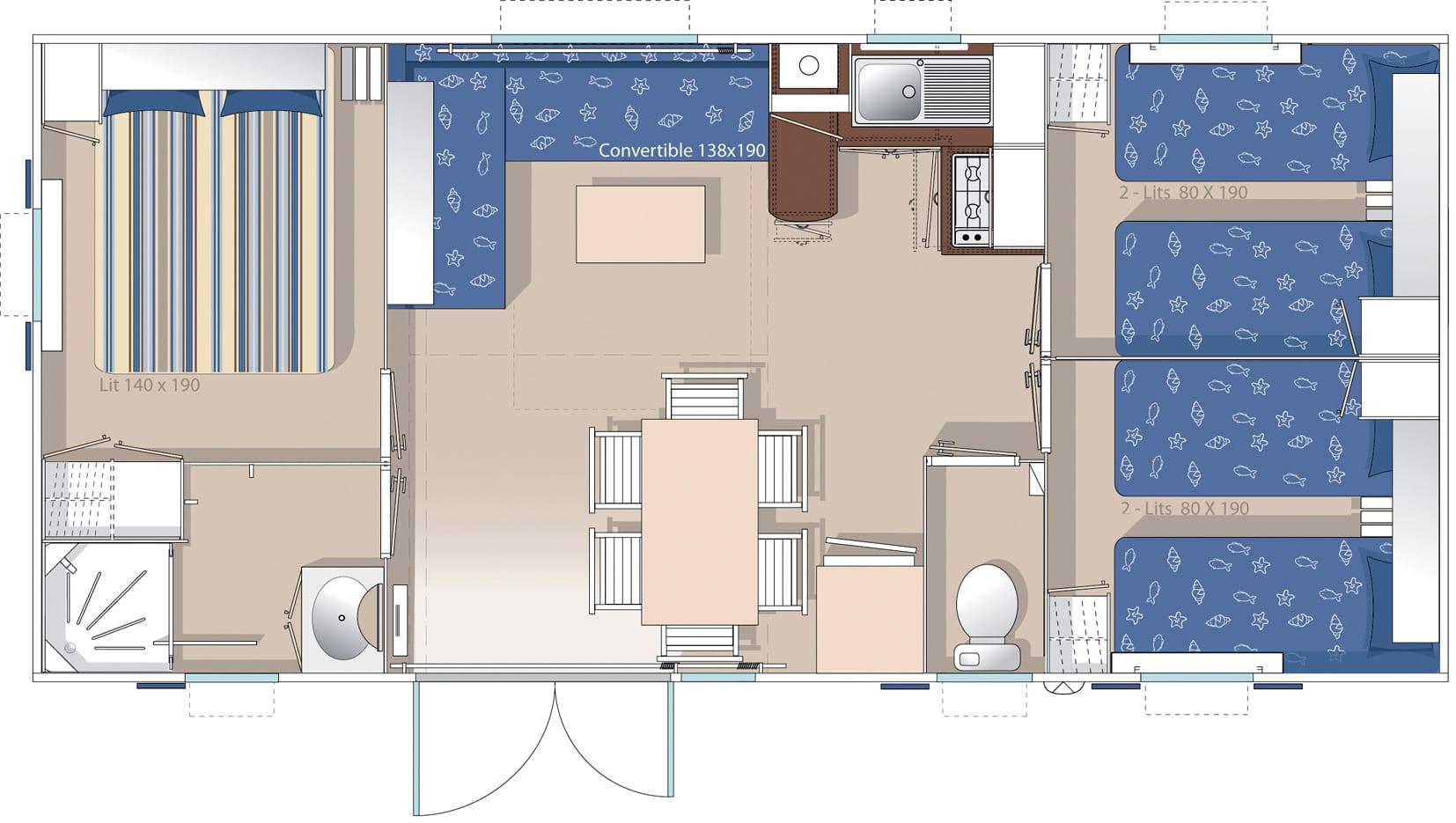 Plan intérieur Ohara 8.34 2004