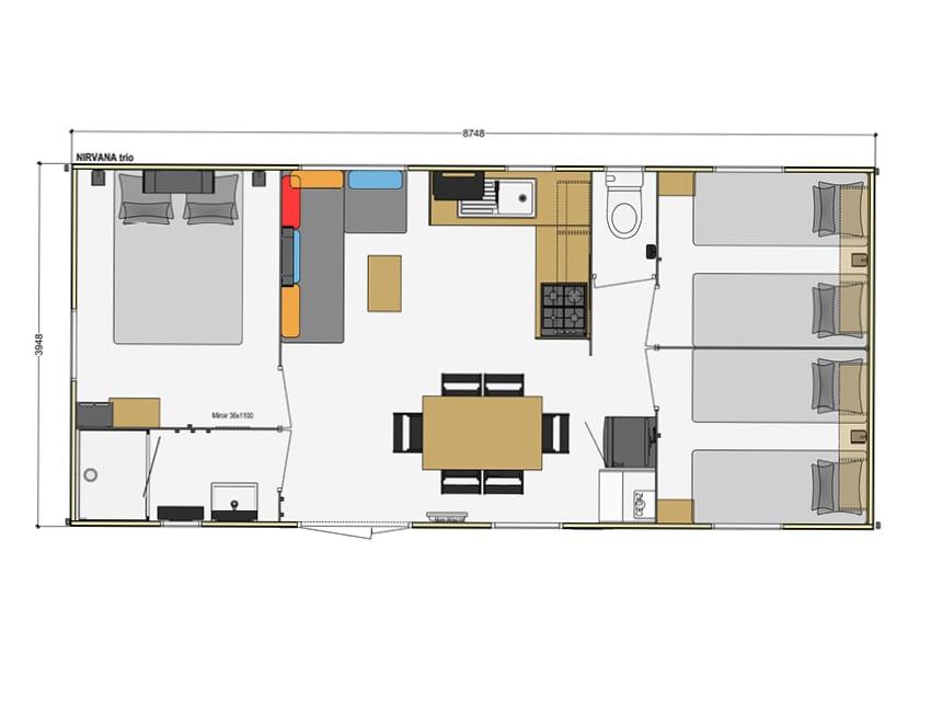 Ridorev Nirvana - 2010 - Mobil home d'occ - 11 000€ - Zen Mobil home