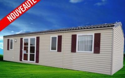Rapidhome Elite 100 – 2010 – Mobil home d'occasion – 14 500€ – 3 chambres – NOUVEAUTE