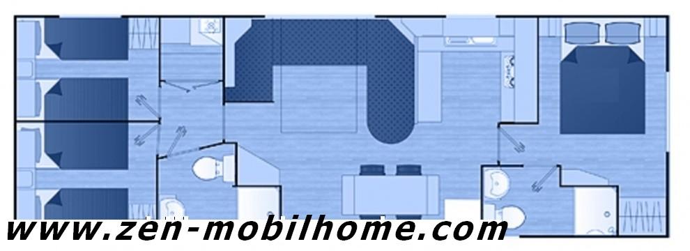 Victory Liberté 274 - 2010 - Mobil home d'occ - 14 000€ - Zen Mobil homes