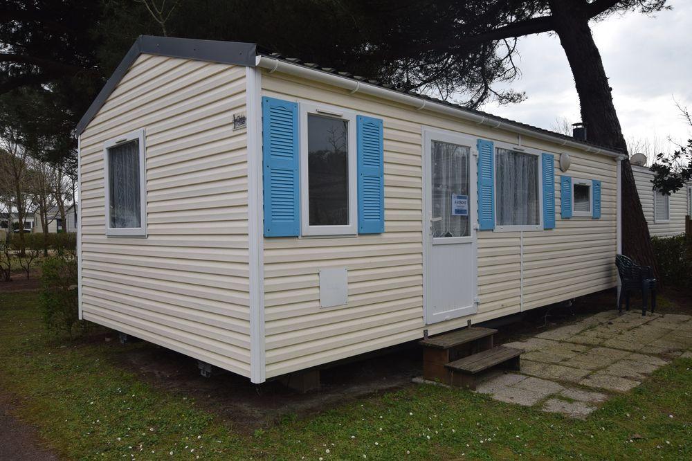 Camping St Pierre d'Oléron - Charente Maritime - Zen Mobil homes - Mobil home sur parcelle sur l'ile d'Oeron - clés en mains