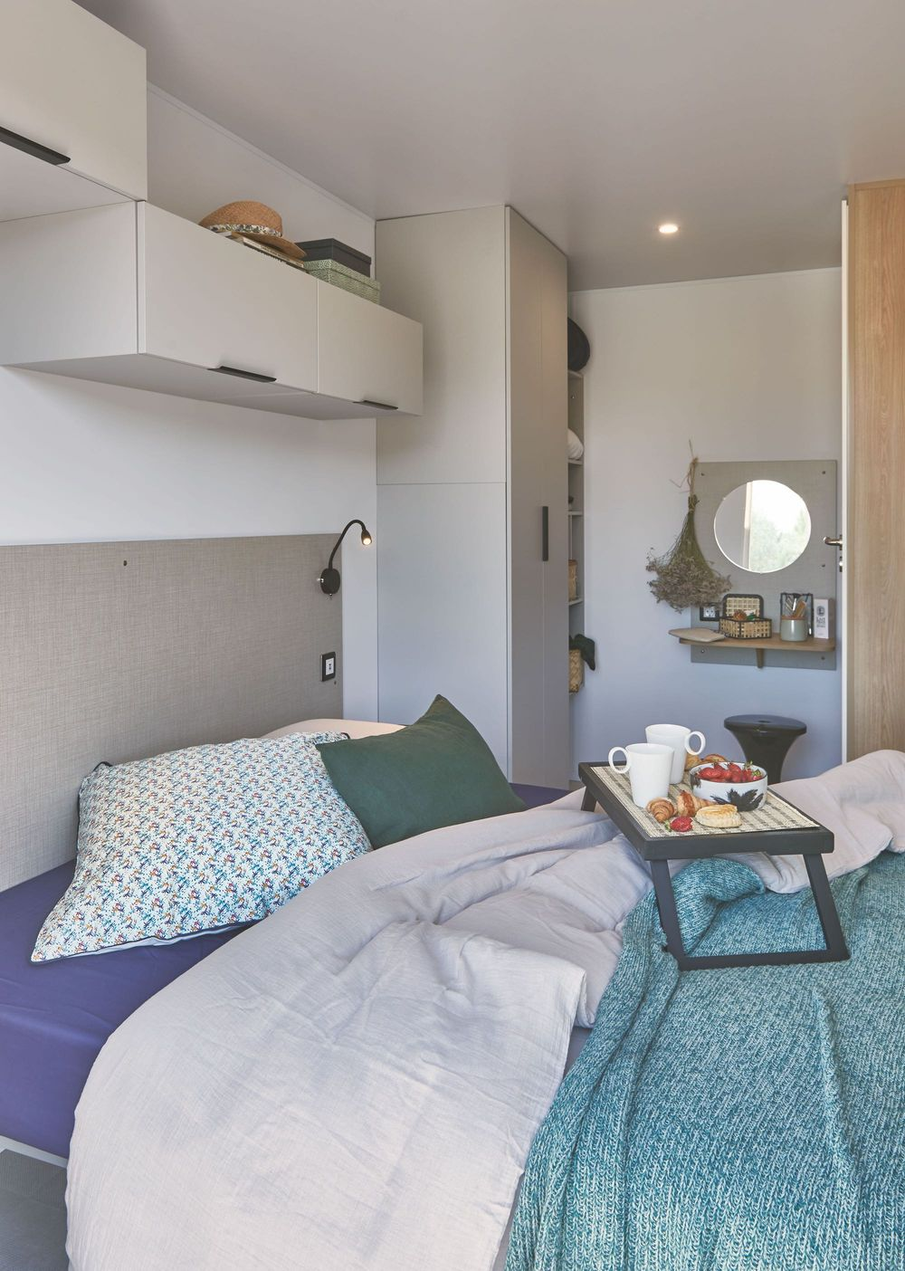 Louisiane Cyclades 2S - Mobil home Neuf - Vacance - Zen Mobil homes