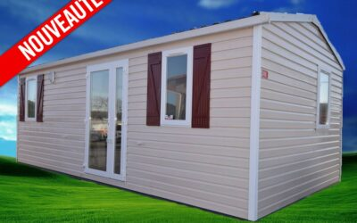 Irm Optima – 300 – 2011 – Mobil home d'occasion – 7 500€ – 2 chambres – NOUVEAUTE