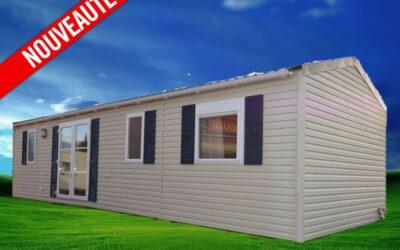 Rapidhome Elite 100 – 398 – 2011 – Mobil home d'occasion – 16 000€ – 3 chambres – NOUVEAUTE
