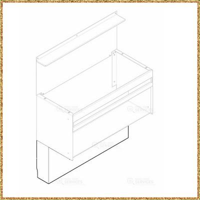 171355 – cache tuyau – pièce détachée francaise – Zen Mobil homes