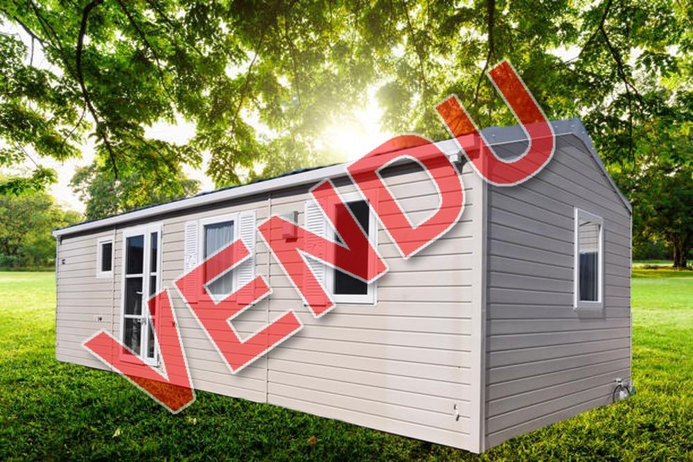 Rapidhome Lodge 872 – 2014 – Mobil home d'occ – 2 chambres – 17 000€ – NOUVEAUTE