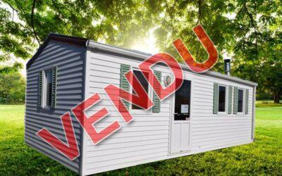 Ohara 7.24 – 85 – Mobil home d'occasion – 6 500€ – 2 chambres – NOUVEAUTE