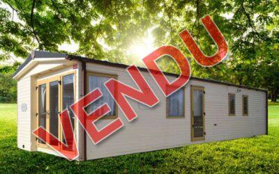 Abi Saint David – 2010 – Mobil home d'occasion – 16 000€ – 2 chambres – NOUVEAUTE